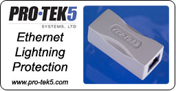 Pro-Tek5 Systems - Ethernet Lightning Protection